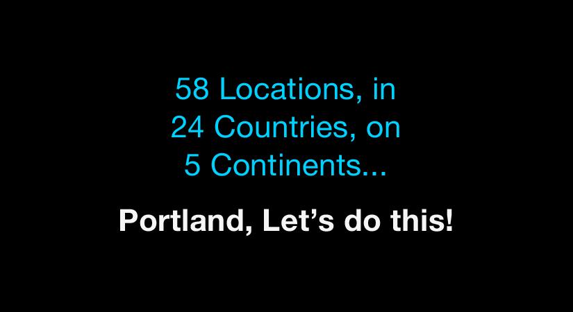 World IA Day, Portland: Agenda